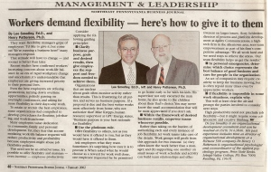 # 1-L&H-Feb 2002-Workers demand flexibility